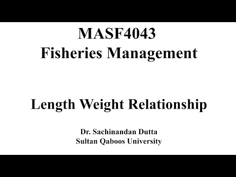 Length Weight Relationship