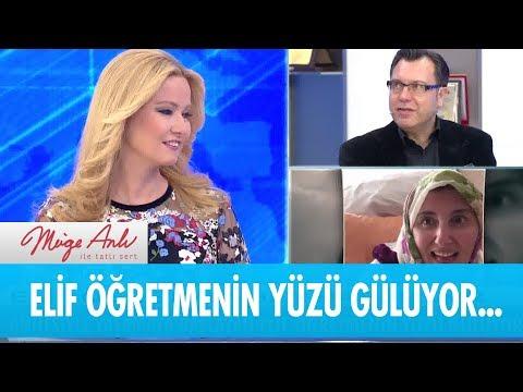 Elif öğretmenin yüzü gülüyor - Müge Anlı ile Tatlı Sert 16  Ocak 2019