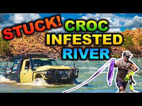 FLOODED Kimberley river crossing GONE WRONG – 150m+ wide rapids - our most epic trip EVER FILMED!