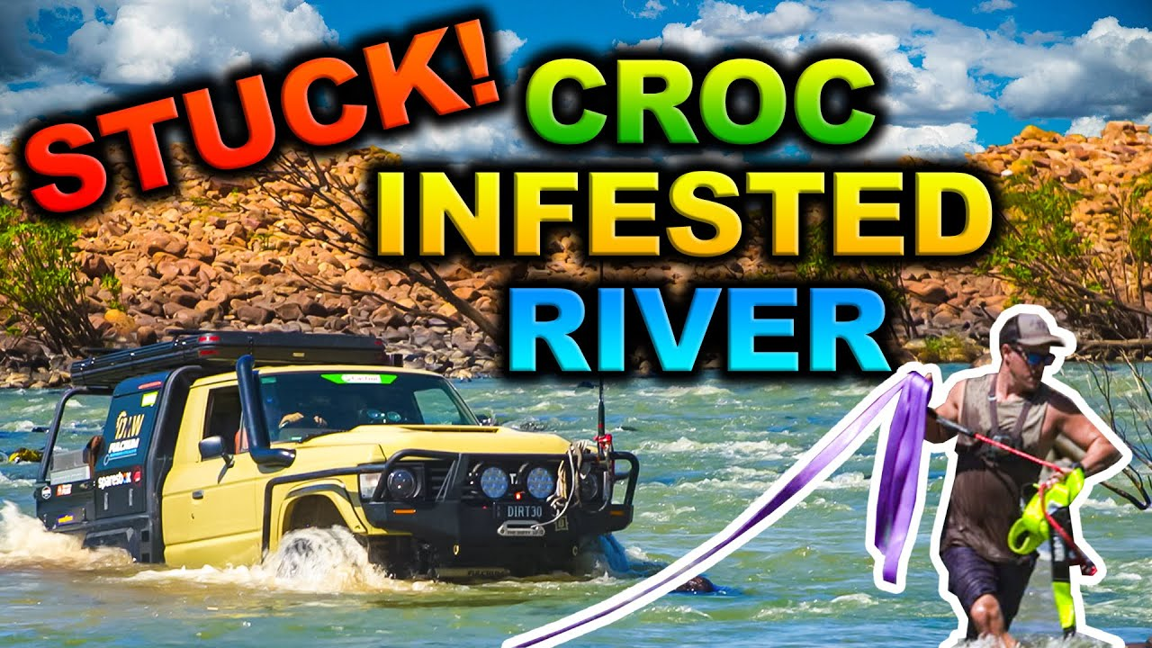 Download FLOODED Kimberley river crossing GONE WRONG – 150m+ wide rapids - our most epic trip EVER FILMED!