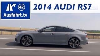 2014 AUDI RS7 : Review / Test / Testdrive