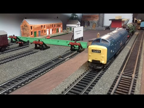 OO Gauge How to build a Model Railway PT22A – Scratch build a platform & lift shaft.