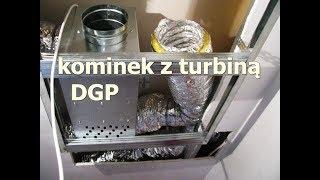 Kominek z rozprowadzeniem ciepła DGP - jak zrobiłem, jak działa