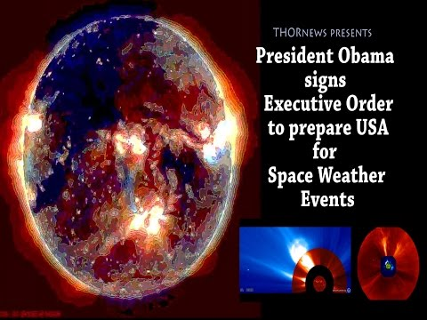 President Obama signs Executive Order preparing USA for Space Weather Events