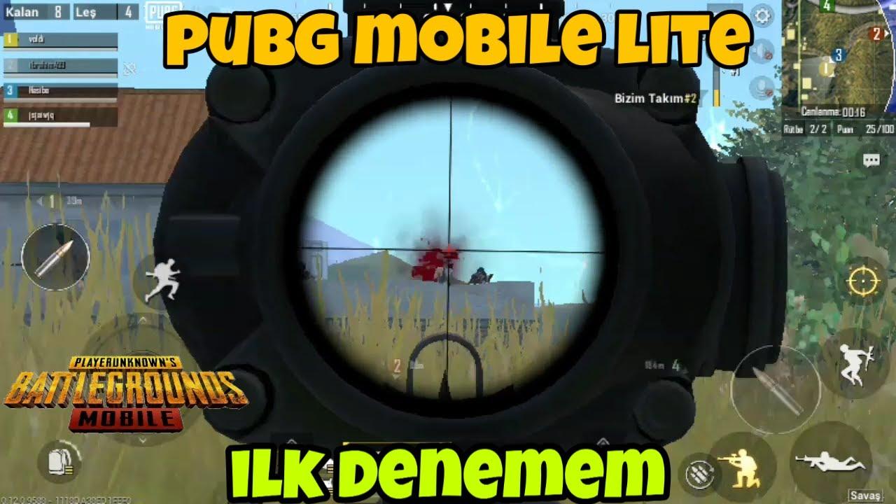 Pubg Mobile Lite Eğlence Modu | #PUBGMOBILELITE #1