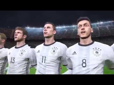 PES 2017 DEMO - France vs Germany