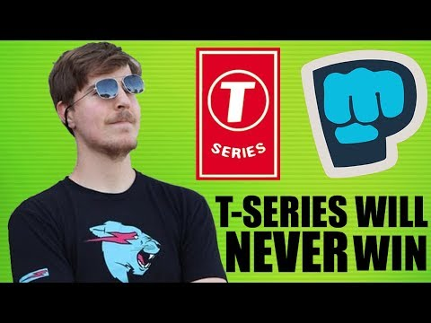MrBeast Is Doing The Impossible (PewDiePie vs T-Series)