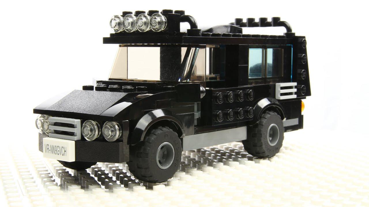Lego SUV Car MOC - YouTube