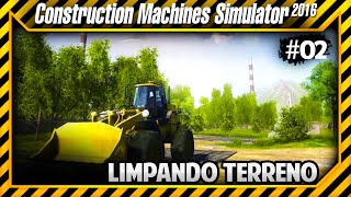 Construction Machines Simulator 2016 - Tirando os Entulhos do Terreno