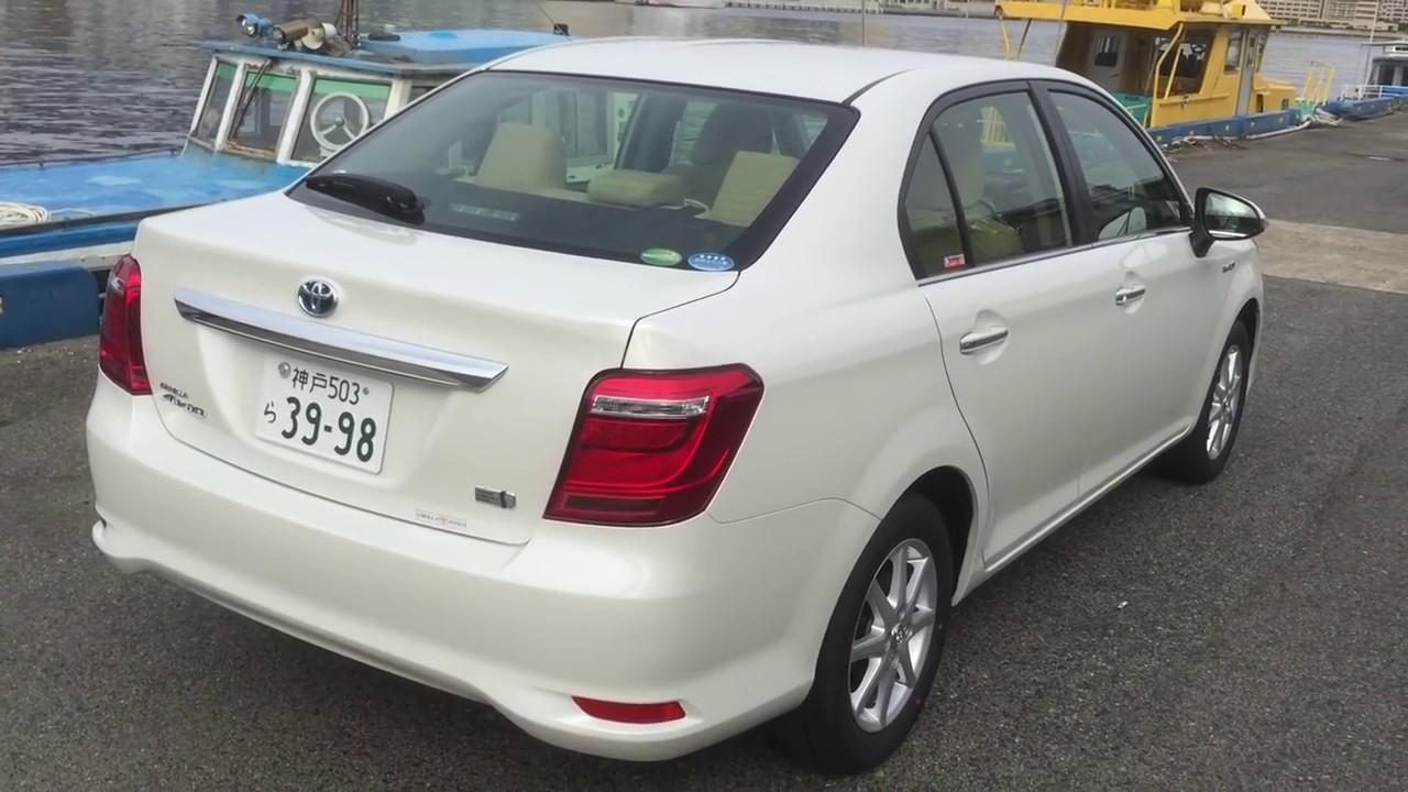 2016 Brand New Corolla Axio Hybrid Youtube