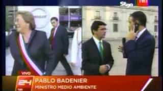 Ministro Badenier sobre evaluación ambiental