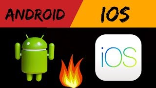 Ios Vs Android  Difference Between Ios Vs Andriod  By Saurabh Jaiswal