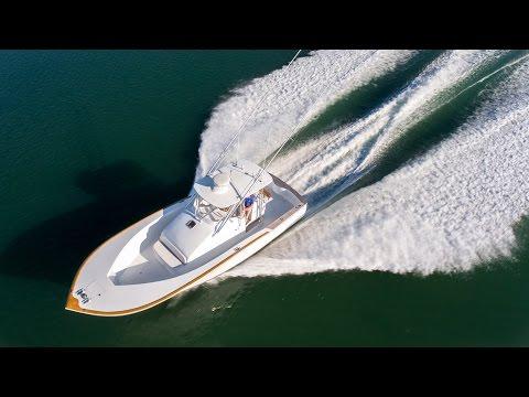 2008 Carolina Custom 34   DRONE VIDEO
