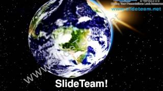 Earth In Universe Geographical PowerPoint Templates ppt Themes 0812 Slides Backgrounds