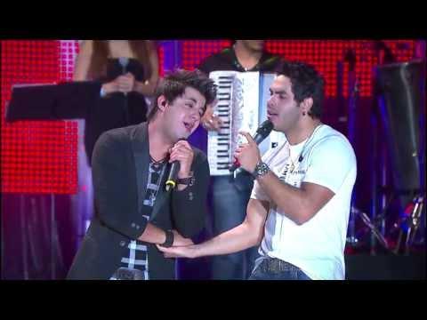 Israel e Rodolffo - Chorar por amor (part. Cristiano Araújo) OFICIAL HD