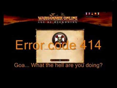 Error code 414