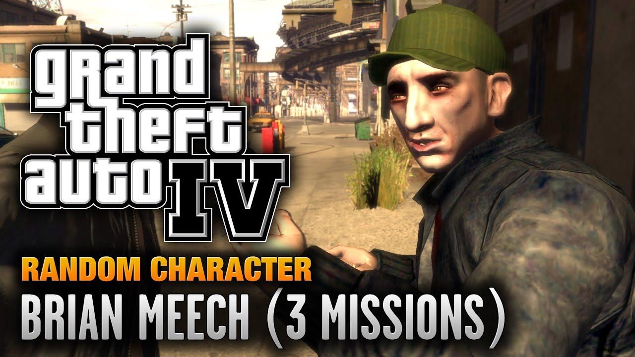 Gta 4 Random Character 1 Brian Meech 3 Missions 1080p