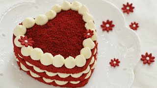 Red velvet cheese cream cake 红丝绒芝士奶油蛋糕 Gâteau red velvet crè…