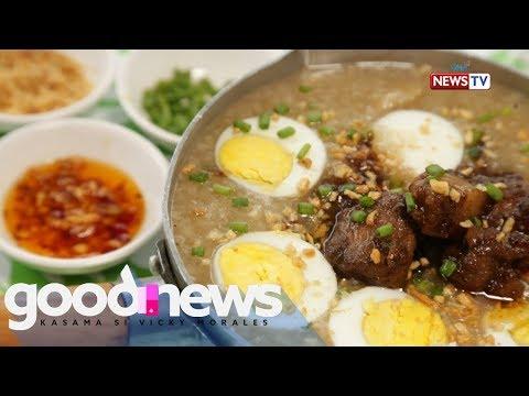 Good News: Lugaw para sa tag-ulan