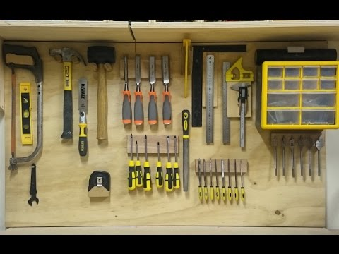 Replacing My French Cleat Hand Tool Storage