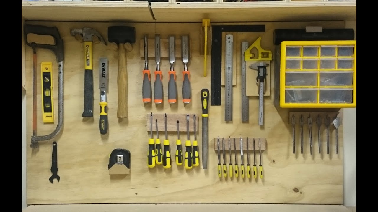 Replacing My French Cleat Hand Tool Storage & Replacing My French Cleat Hand Tool Storage - YouTube