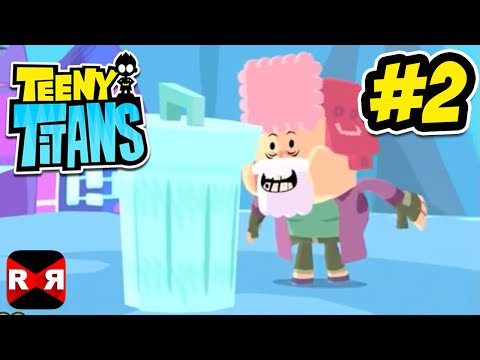 Teeny Titans (by Cartoon Network) - iOS / Android - Walkthrough Gameplay Part 2