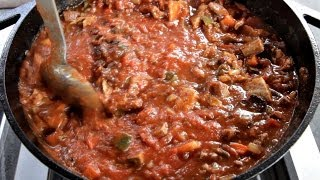 Smoked Chili Con Carne Recipe- With Steak, Ribs, And Bacon