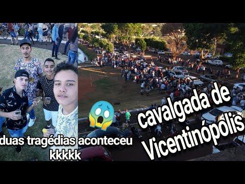 ACONTECEU DUAS TRAJEDIAS INDO PRA ( CAVALGADA DE VICENTINÓPOLIS )...