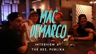 Mac Demarco | Interview (for the Upfront series at The Bee, KL)