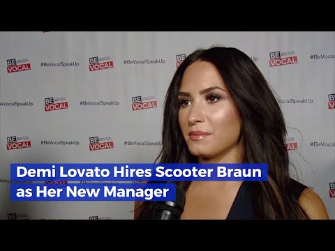 Scooter Braun And Demi Lovato Are Working Together Mp3