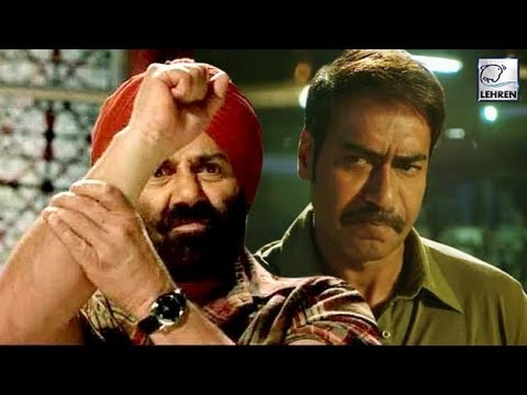 When Sunny Deol Tried To Throw Ajay Devgn Out Of Movie