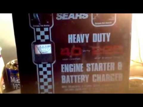 hqdefault old sears heavy duty engine starter & battery charger (part 1 Sears Battery Charger at nearapp.co
