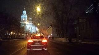 . Москва-Курский вокзал-Бауманская-Электрозаводская-Семеновская. Поездка на автомобиле