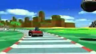 Sonic Drift (Sega Game Gear) - Retro Video Game Commercial / Ad