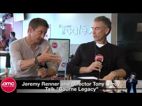 AMC Theatres Exclusive: Jeremy Renner and Tony Gilroy Talk The Bourne Legacy