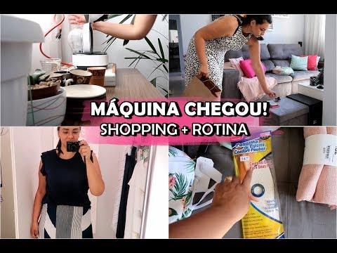 PROVADOR DA LOJA | MAQUINA CHEGOU | ORGANIZANDO A CASA | CANTINHO DO CAFE | COMPRINHAS