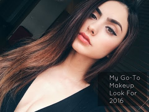 My Go To Makeup Look for 2016 | Joanna Marie