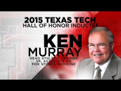 2015 Texas Tech Hall of Honor: Ken Murray