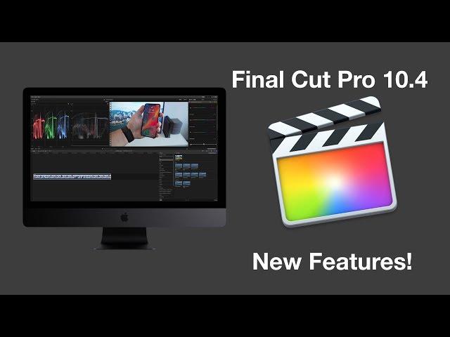 hands on with the new final cut pro x 10 4 update mac rumors rh macrumors com Audio Track Final Cut Pro 7 Final Cut Pro 7 Fonts