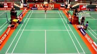 Kelvin Sunaryo (EXIST Badminton Club) VS Nur Hadi Effun (Jaya Raya Suryanaga)