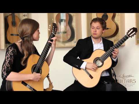 Kaiser Schmidt Guitar Duo plays Berceuse from the Dolly Suite, Op. 56 by Gabriel Fauré