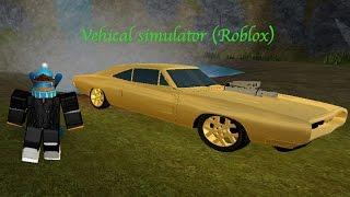 Simulateur de véhicule (en anglais) Roblox cascades et échoue