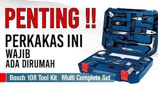Bosch 108 Pcs Multi Function Tool Kit Set Set Alat Perkakas 108 Pcs