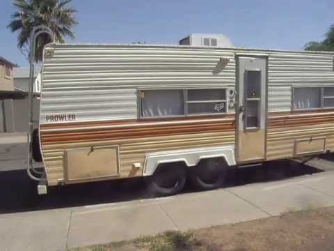 my 1978 prowler travel trailer short tour my 1978 prowler travel trailer short tour
