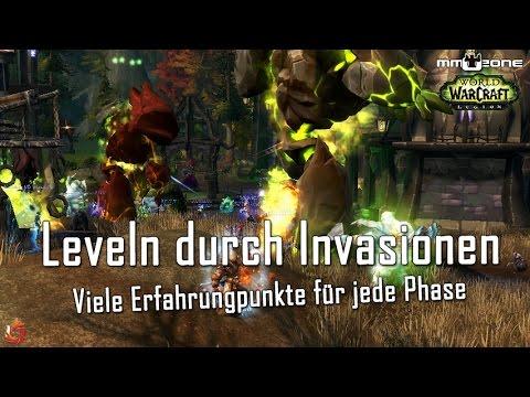 WoW Legion Pre-Event - Leveln durch Invasionen der Brennenden Legion