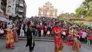 Bollywood Flashmob in Macau - Day 2