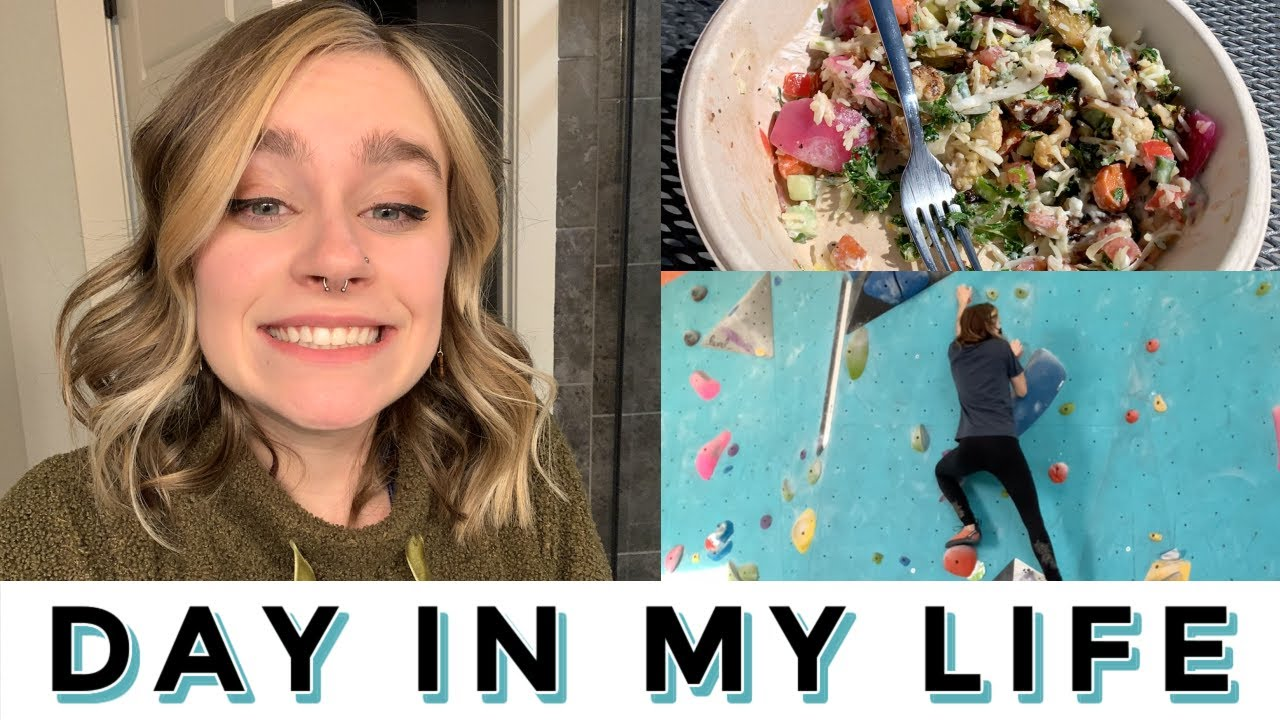 Day in my life: hair cut, shopping, & climbing