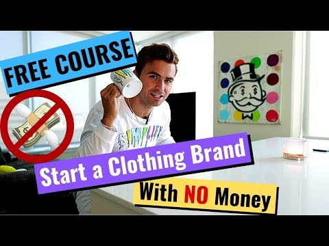 [FREE COURSE] Start a Clothing Brand w/ NO Money (STEP BY STEP) thumbnail