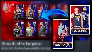 Yes!! Out of Position Players are Here - Nba Live Mobie 19