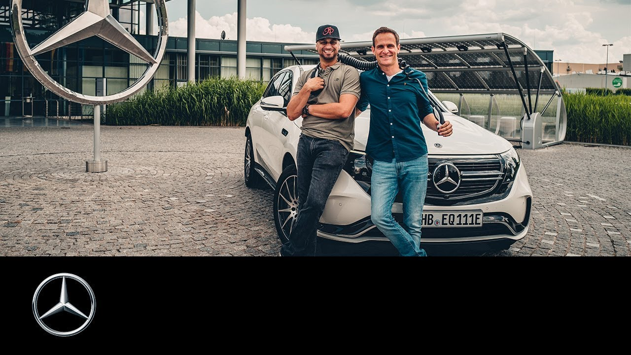 Der Mercedes Unter Den Elektrischen Der Neue Eqc X The Weeknd Youtube